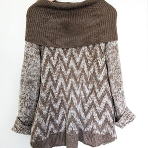Wooden Ships Cowl Neck Sweater